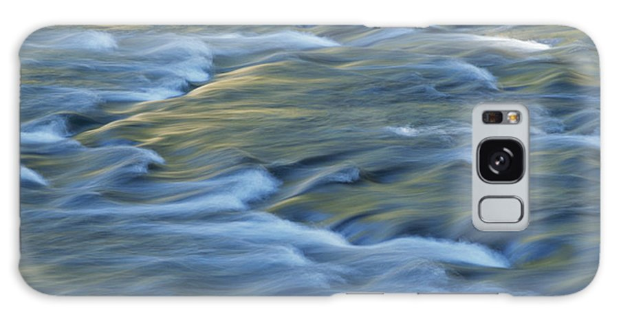Water Galaxy S8 Case featuring the photograph Swiftly Rushing Water In A Stream by Tom Murphy