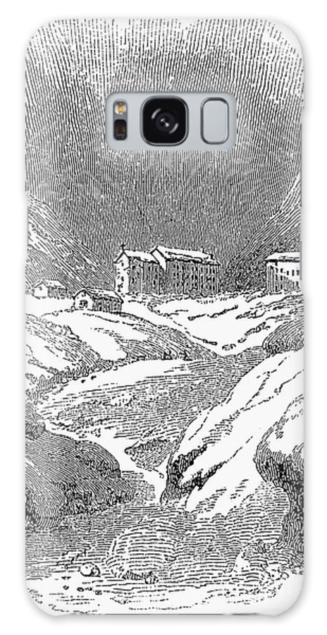 1843 Galaxy S8 Case featuring the photograph Switzerland: Convent, 1843 by Granger