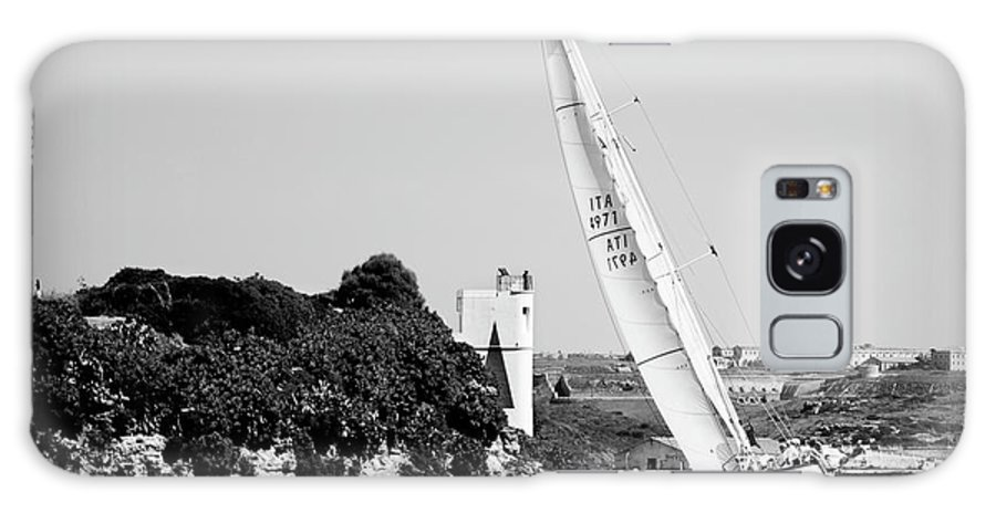Tall Ship Galaxy S8 Case featuring the photograph Tall Ship Race 1 by Pedro Cardona Llambias