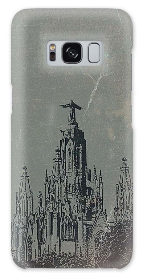 Temple Expiatory Galaxy S8 Case featuring the photograph Temple Expiatory by Naxart Studio