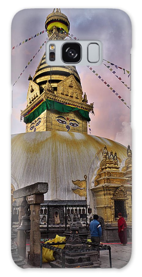 Temple Galaxy Case featuring the photograph Temple by Ivan Slosar