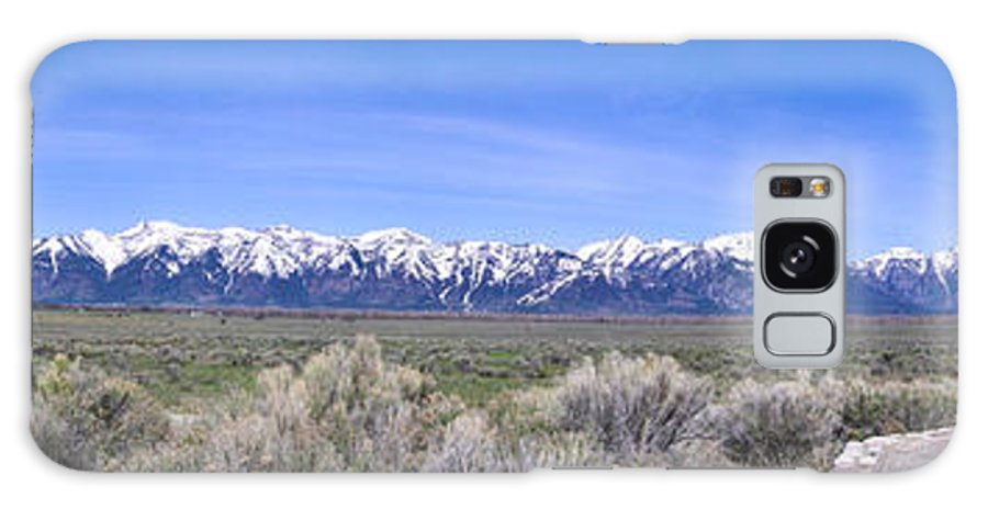 Teton Galaxy S8 Case featuring the photograph Teton National Park Panarama by Douglas Barnett
