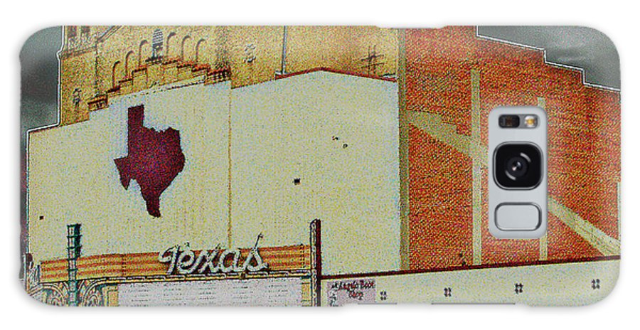 Texas Galaxy S8 Case featuring the photograph Texas Theater II by Louis Nugent