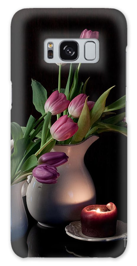 Tulips Galaxy S8 Case featuring the photograph The Beauty Of Tulips by Sherry Hallemeier