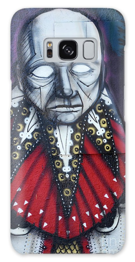 Graffiti Galaxy S8 Case featuring the photograph The Chief by Bob Christopher
