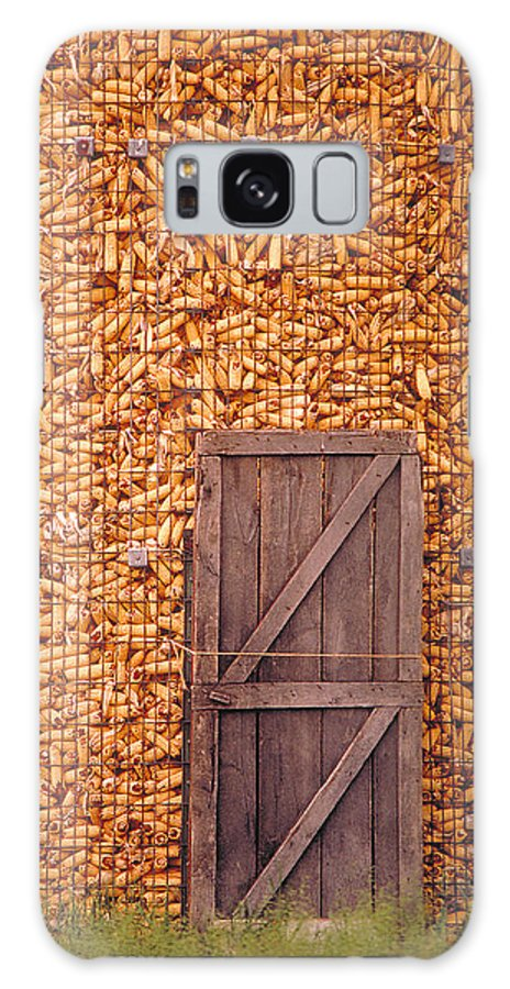 Corn Galaxy S8 Case featuring the photograph The Corn Crib by Garry McMichael