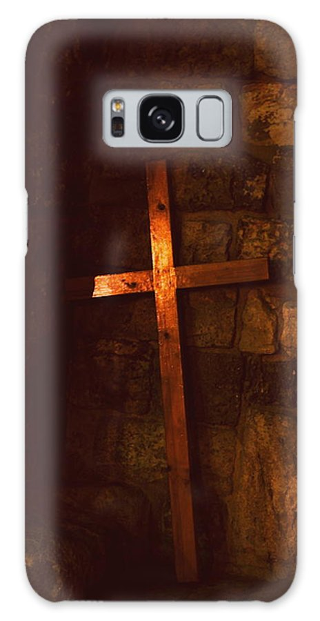 Cross Galaxy S8 Case featuring the photograph The Cross by Amr Miqdadi