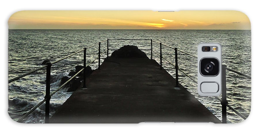 Bridge Galaxy S8 Case featuring the photograph The End Of The Journey by Nabucodonosor Perez