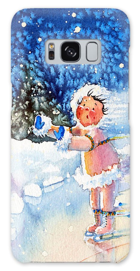 Children Book Illustrator Galaxy S8 Case featuring the painting The Figure Skater 5 by Hanne Lore Koehler