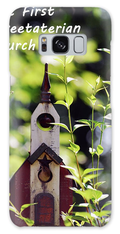 Wren Galaxy S8 Case featuring the photograph The First Tweetaterian Church by Lori Tambakis