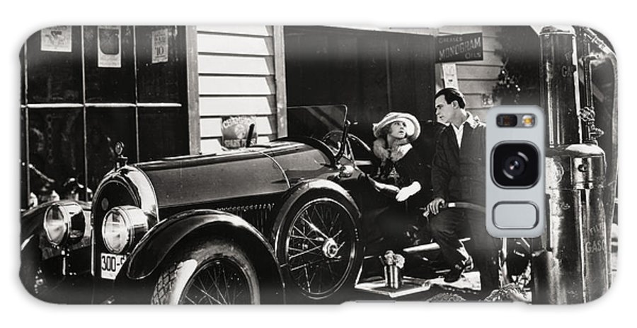 -transportation: Automobiles- Galaxy S8 Case featuring the photograph The Fourth Musketeer, 1923 by Granger