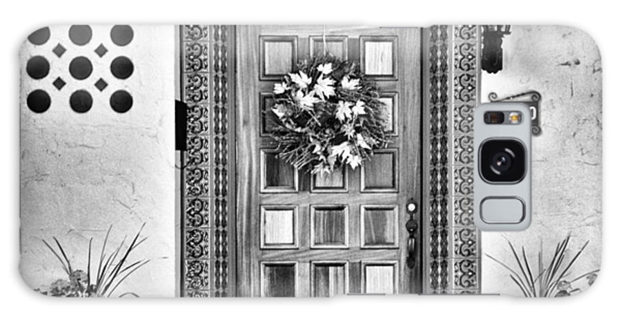 Door Galaxy S8 Case featuring the photograph The Front Door by Diane Wood