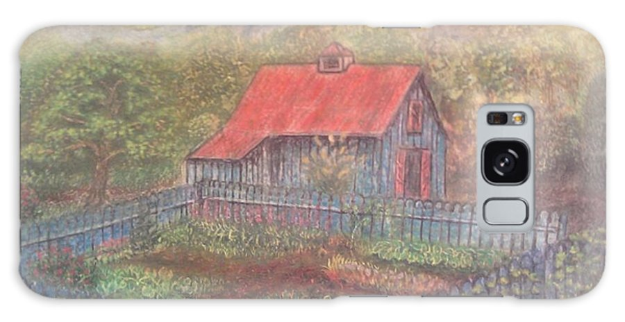 Landscape Galaxy S8 Case featuring the mixed media The Garden Barn At Callaway Gardens by Andrew Pierce