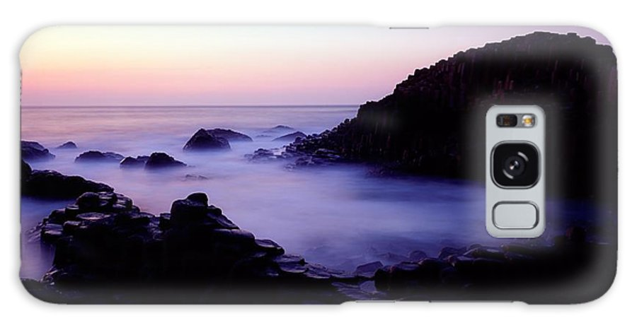 Back Lit Galaxy S8 Case featuring the photograph The Giants Causeway, Co Antrim, Ireland by The Irish Image Collection
