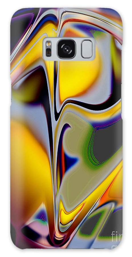 Kiss Galaxy S8 Case featuring the digital art The Kiss by Tom Hubbard