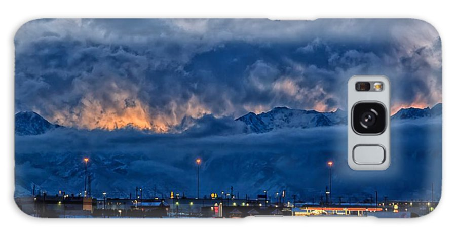 Sunrise Galaxy S8 Case featuring the photograph The Lifting Storm by Mitch Johanson
