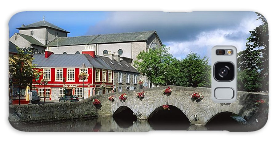 Bridge Galaxy S8 Case featuring the photograph The Mall, Westport, Co Mayo, Ireland by The Irish Image Collection