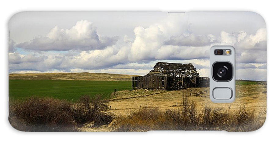 Vintage Chain Galaxy S8 Case featuring the photograph The Old Barn In The Meadow by Steve McKinzie