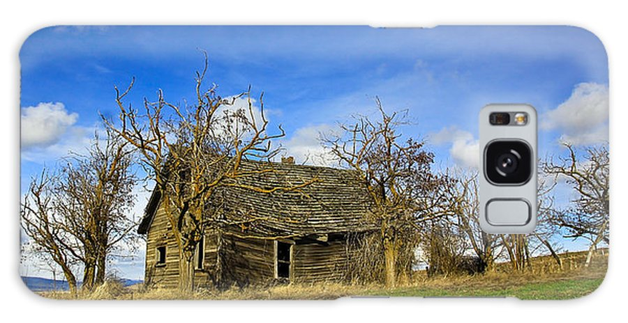 Pioneers Galaxy S8 Case featuring the photograph The Old Farm House by Steve McKinzie
