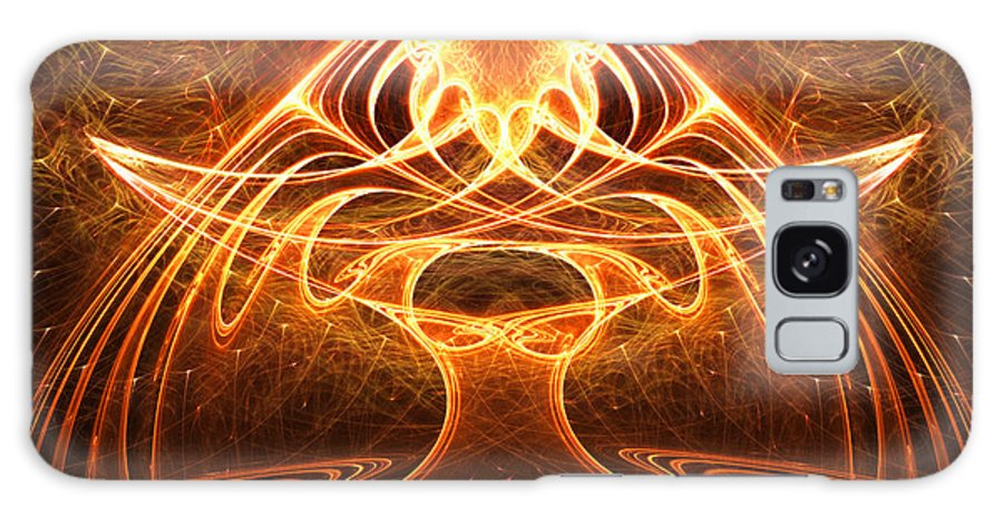 Animated Art Canvas Prints Galaxy S8 Case featuring the digital art The Oracle by Ester Rogers