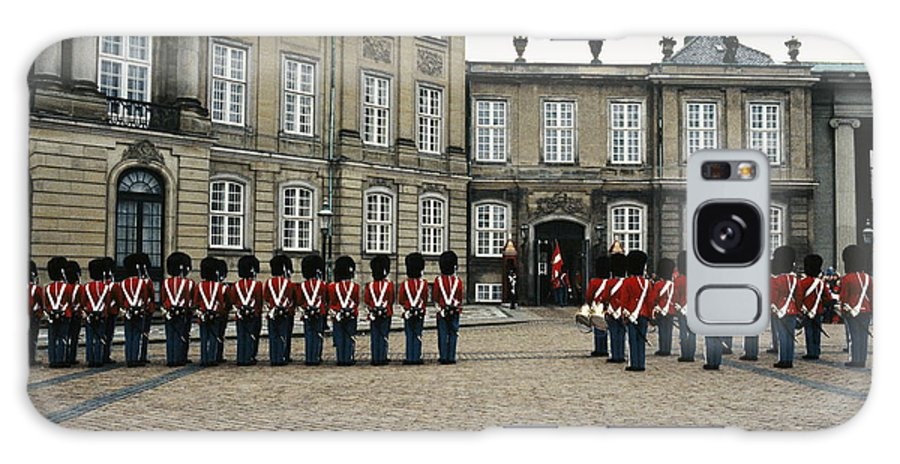 Europe Galaxy S8 Case featuring the photograph The Parading Of The Guards by Sisse Brimberg