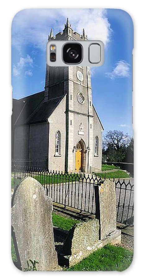 Blue Sky Galaxy S8 Case featuring the photograph The Protestant Church, Delgany, Co by The Irish Image Collection