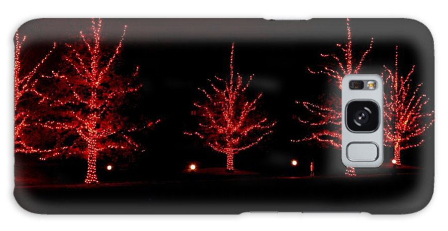 Nightscape Galaxy S8 Case featuring the photograph The Red Coat by Living Color Photography Lorraine Lynch
