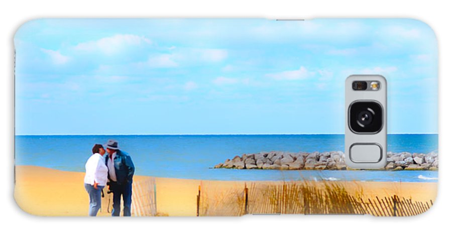 Cape Cod Galaxy S8 Case featuring the photograph The Romantic Beach by Randall Branham