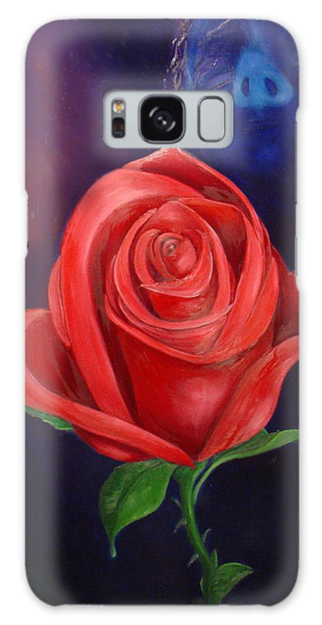 Roses Galaxy S8 Case featuring the painting The Rose by Walter Laing