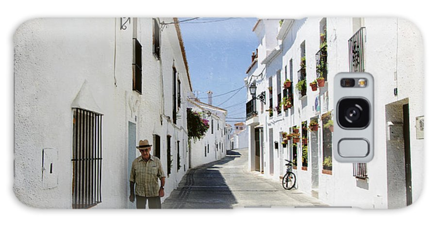 Spain Galaxy S8 Case featuring the photograph The Spanish Village Mijas by Perry Van Munster