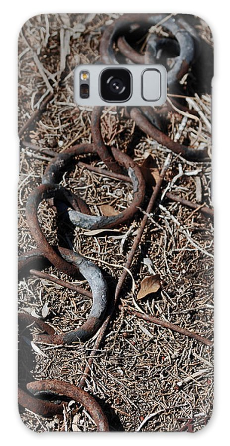 Kelly Rader Galaxy S8 Case featuring the photograph These Rusty Chains by Kelly Rader