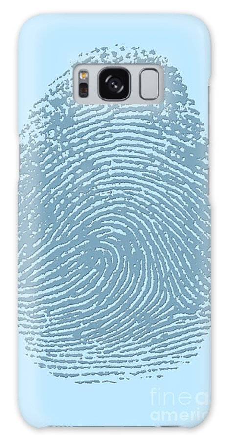 Thumbprint Galaxy S8 Case featuring the photograph Thumbprint by Science Source