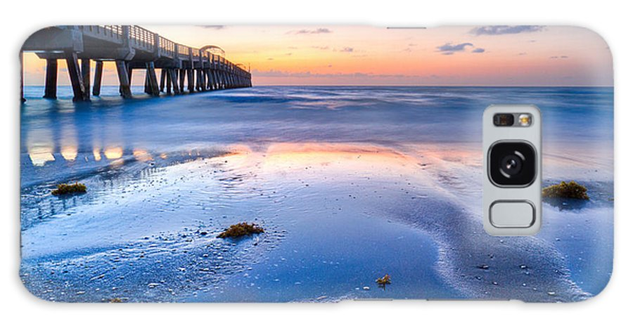 Beach Galaxy S8 Case featuring the photograph Tidal Pools by Debra and Dave Vanderlaan
