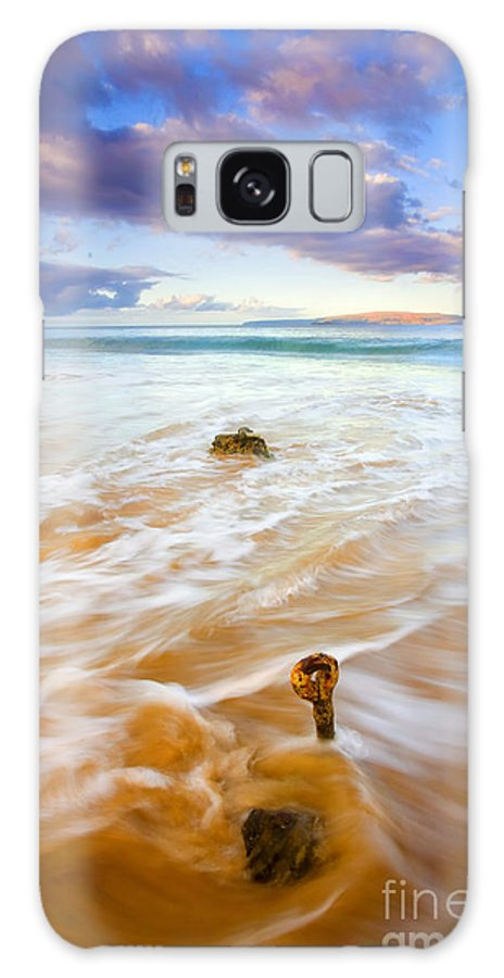 Eyebolt Galaxy S8 Case featuring the photograph Tied To The Sea by Mike Dawson