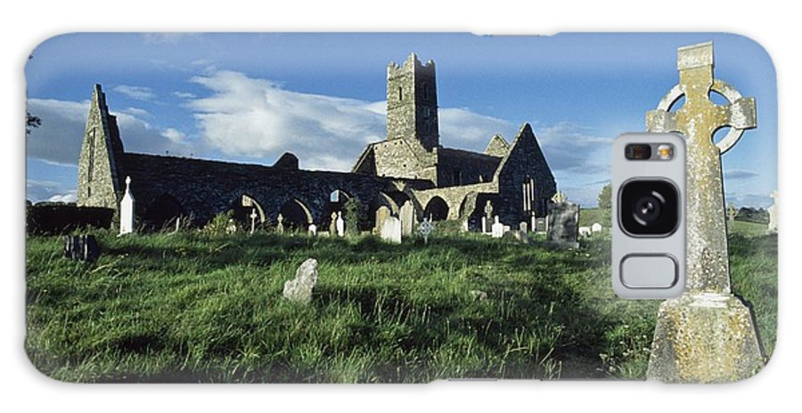 Cemetery Galaxy S8 Case featuring the photograph Timoleague Abbey, Co Cork, Ireland 13th by The Irish Image Collection
