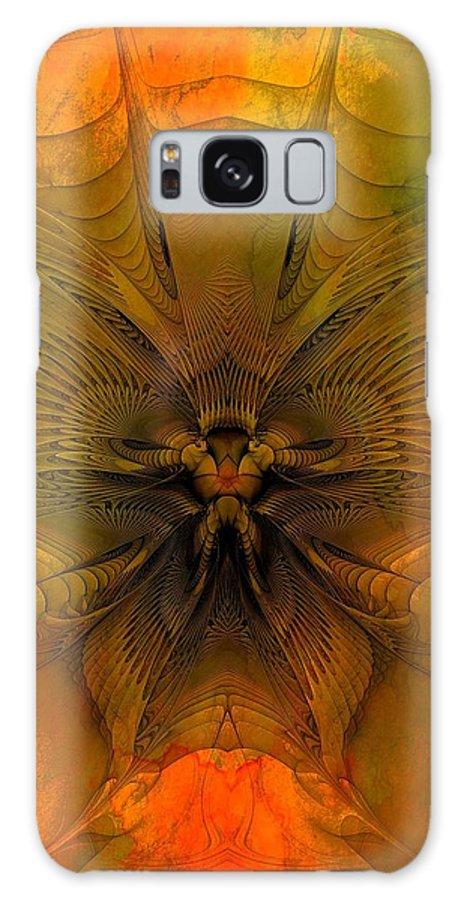 Digital Art Galaxy S8 Case featuring the digital art Towards The Light by Amanda Moore