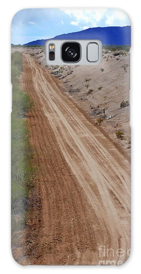 Tracks To Nowhere Galaxy S8 Case featuring the photograph Tracks To Nowhere by Methune Hively