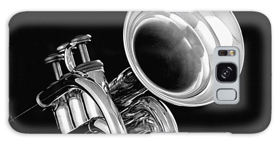 Fine Art Galaxy S8 Case featuring the photograph Trumpet Up Front by M K Miller