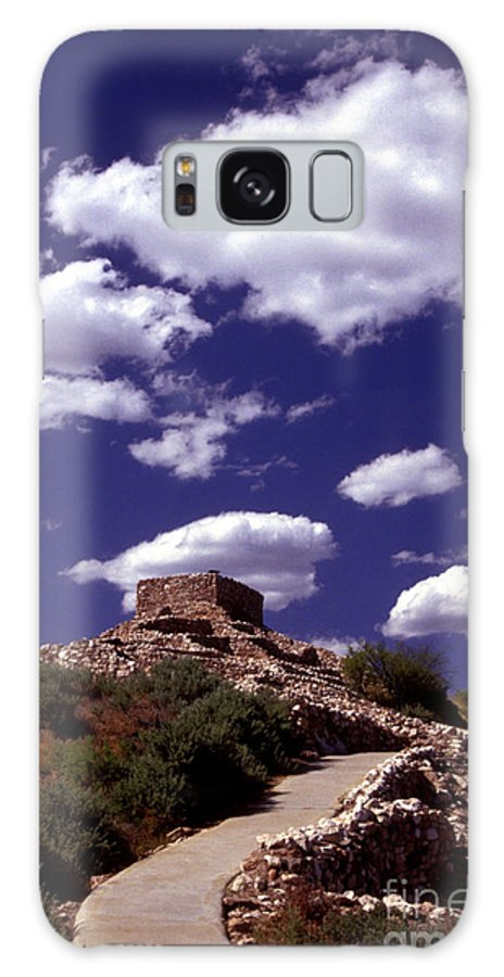 Tuzigoot Galaxy S8 Case featuring the photograph Tuzigoot by Paul W Faust - Impressions of Light
