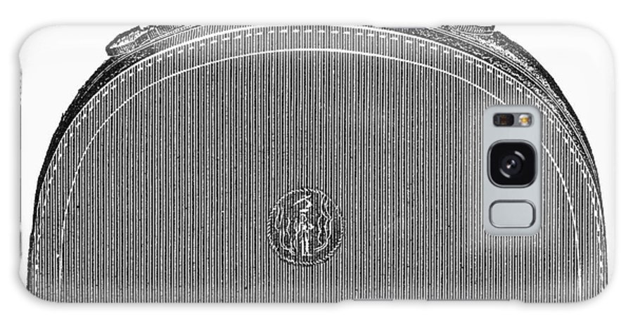 1889 Galaxy S8 Case featuring the photograph Typewriter Case, 1889 by Granger