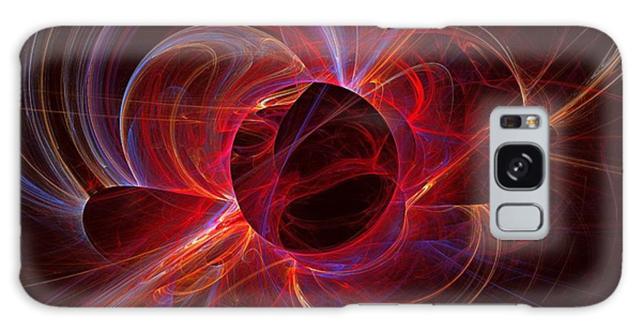 Apophysis Galaxy S8 Case featuring the digital art Ultraviolet by Kim Sy Ok