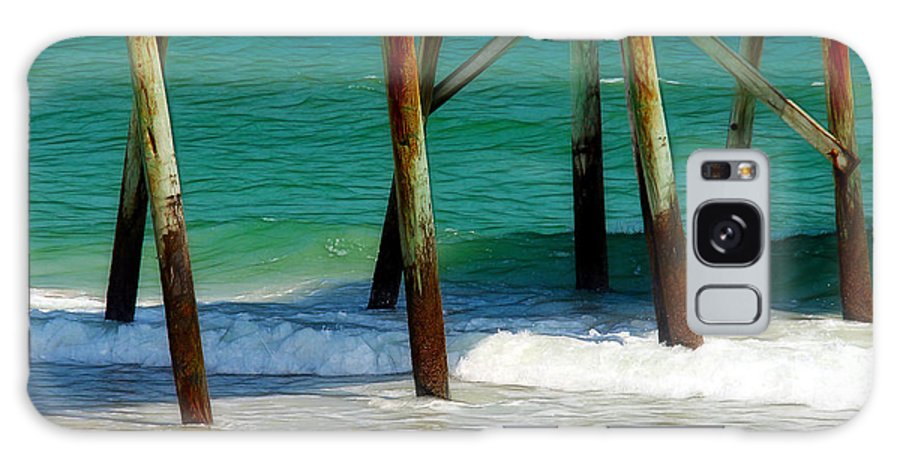 Pier Galaxy S8 Case featuring the photograph Under The Boardwalk by Judi Bagwell