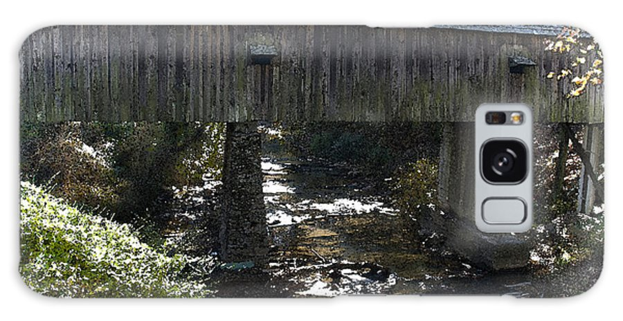 Kelly Rader Galaxy S8 Case featuring the photograph Under The Bridge by Kelly Rader