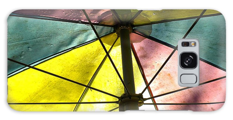 Umbrella Galaxy S8 Case featuring the photograph Under The Umbrella by Renate Nadi Wesley