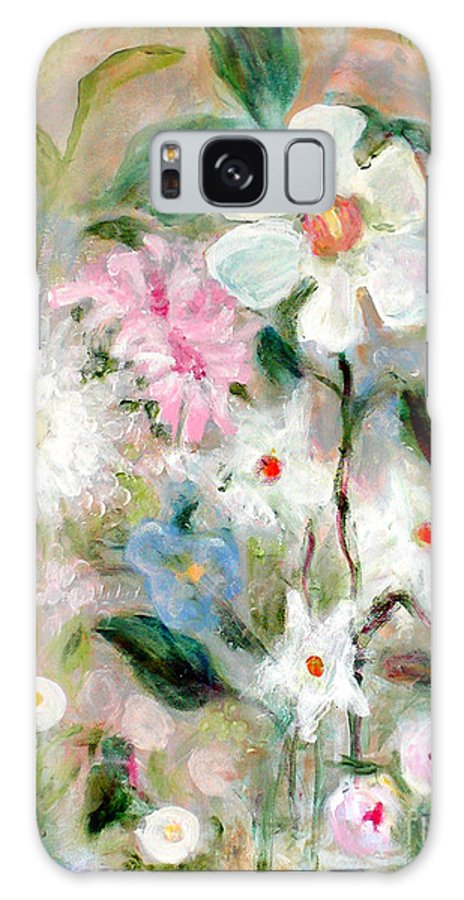 Floral Galaxy S8 Case featuring the painting Unity Garden by Joi Sampsell
