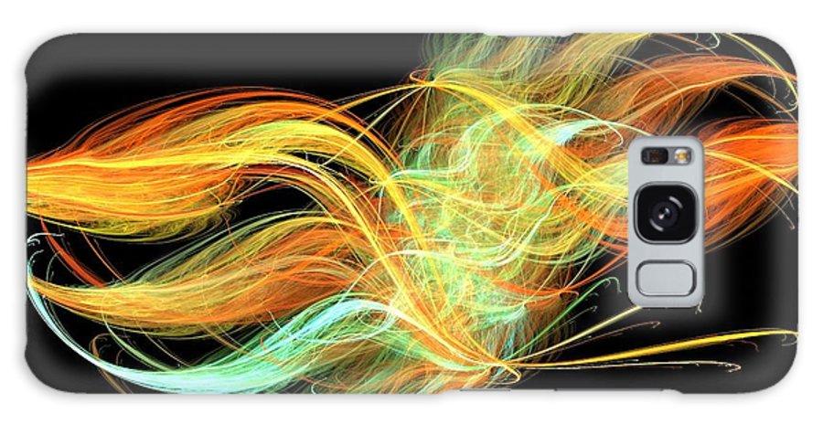 Apophysis Galaxy S8 Case featuring the digital art Unity by Kim Sy Ok
