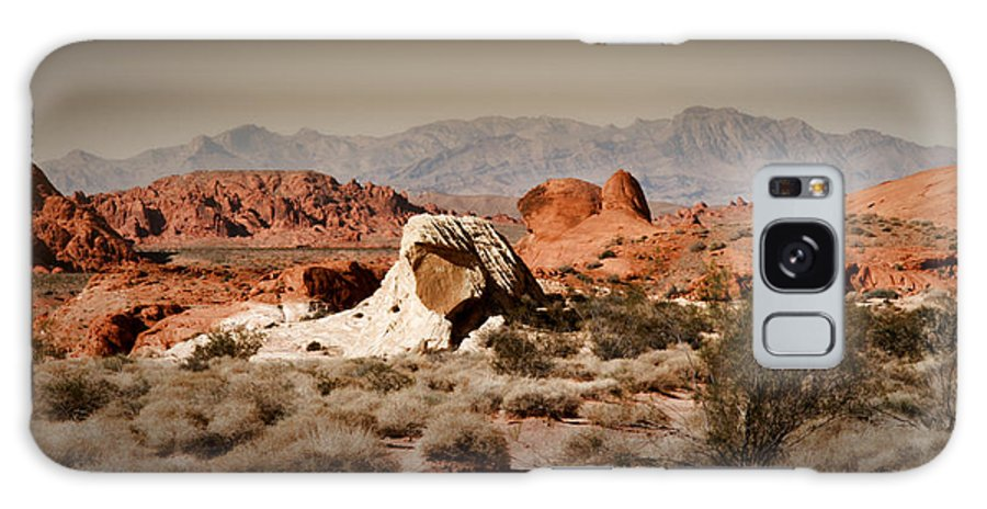 Valley Of Fire Galaxy S8 Case featuring the photograph Valley Of Fire by Chris Brannen