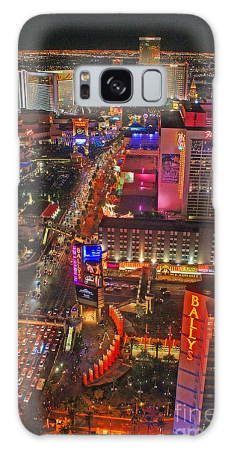 Las Vegas Galaxy S8 Case featuring the photograph Vegas Strip by Randy Harris
