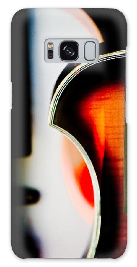 Canon Galaxy S8 Case featuring the photograph Violin by Hakon Soreide