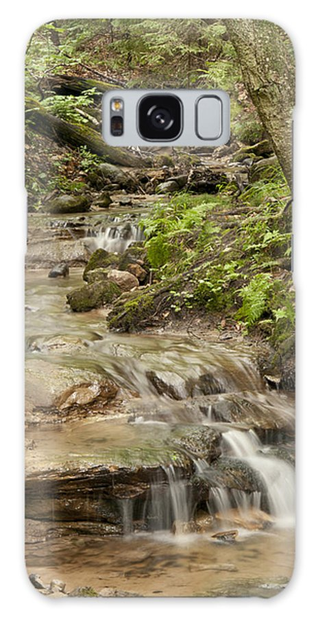 Wagner Falls Galaxy S8 Case featuring the photograph Wagner Falls by Cindy Lindow